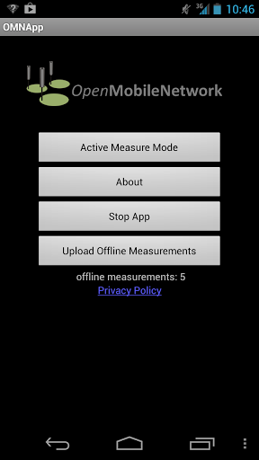 OpenMobileNetwork for Android